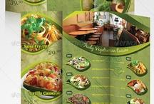 Menu Brochure