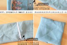 Noeud en tissu