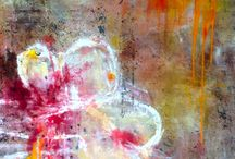 Panchali Sheth / Abstract paintings of Sydney based artist Panchali Sheth.