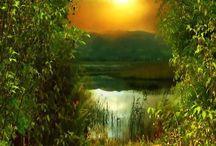 природа пейзажи