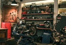 Vintage motorcycle inspiration