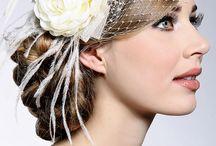 Bridal Veils & Bridal hair accessories / Bridal Veils and Bridal hair accessories / by Earrings Nation