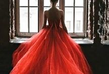 The Red Oluchi / Intense, full of movement, Royal, covering, promises... The color of red