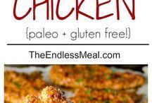 gluten/dairy free food