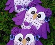 Whooooo loves owls:-) / by Melissa Gillespie