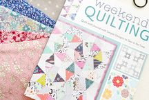 Quilting and Sewing Books / Great and colorful books for sewing and quilting.