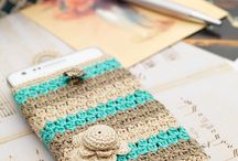fundas tablet crochet