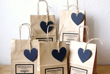 bolsas decoradas papel