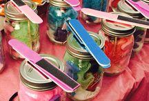 My crafts / Mason jar gifts