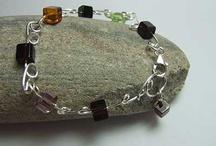 Bracelets / Bracelets made using silver glass, gemstones and glass #bracelets  #followback #follow4follow