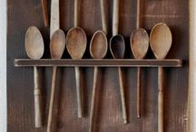 Wooden spoons / by Vicki Vares