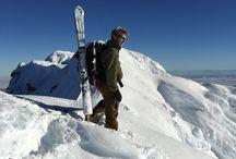 Mt Hood - New Year's Eve 2014 - Summit Bid / Climbing Mt Hood on a sunny, cold, powdery New Year's Eve 2014, then skiing down.