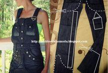 joda.g / Jeans refashion ideas