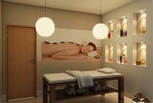 Salas de massagem