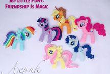 little pony flanel