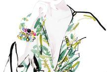 fashion illustrations / by Nena Derbedrossian