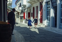 """Little England"" / Beautiful Andros in Cyclades will be the setting for Voulgaris' new film Micra Anglia meaning ""Little England""!"