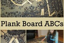 alphabet activities / activities for helping to learn the abc's for my 3 year old classroom. / by Susan Mitchell