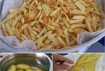 batata frita sem oleo