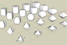 PEG geometria, vzory