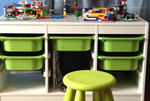 Duplo Lego tafel & opberging