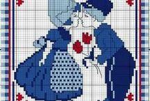 ♡ Pixel haken / pixel crochet / Patronen en teldiagrammen, pixeldeken, pixel blanket, pixel kussen, pixel cushion