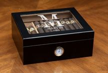 Cigar Lovers / For people who love cigars, humidors, groomsmen humidor, scotch and whiskey!