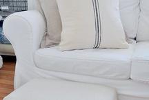 Upholstery & Slipcovers / by Karen Nolte