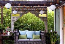 Terraza / Fotos com dicas de como aproveitar o terraço, pátio ou varanda.