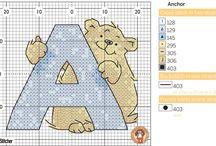 Cross Stitch-Alphabets.