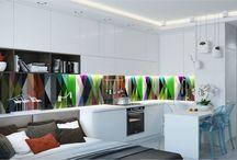 Дизайн квартиры студии в Москве 27 м2