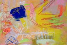Intuitive painting / intuitive painting