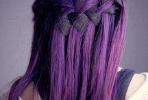 Violet haartinten