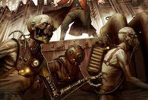 Steampunk NPCs