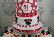 tartas y cupcake