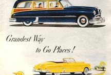 automobile ads & brochure.