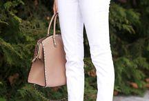 jeans branca