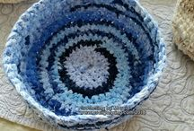 Crocheting with Fabric Strips