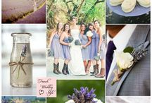 Colores para una boda / Paletas de color para la decoración de una boda
