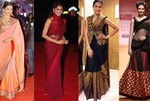 How to wear saree in different styles