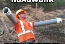 Construction industry humour / Compile nice and humorous images from the construction industry.