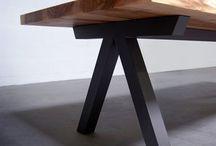 Tables en bois