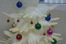 kerstboomhandschoen