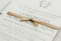 Wedding Invitations and Stationary / All photos copyright Caroline Lima Photography. http://www.carolinelima.com/
