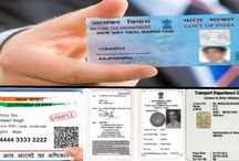 Identity Card / Lost aadhaar card, pan card, voter id card, driving license or any other identity related documents.