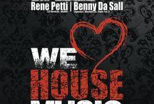 We Love House Music #9 / ☆ We Love House Music ☆ Sojus 7 Monheim | Sa. 03.10.15 | w/ UniTy | Diark Plattenspieler | Rene Petti | Benny Da Sall