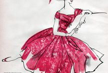 Fashion Illustration / by the curious kiwi