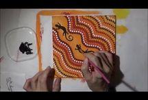 aboriginal dot video