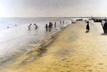 Art: Peder Severin Kroyer / Danish painter 1851-1909