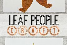 Leaves people